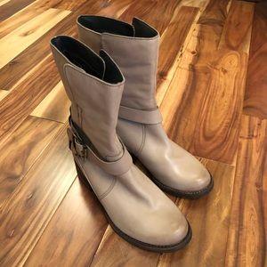 Clark's Monica Soul Tan Taupe Mushroom Boots NEW!
